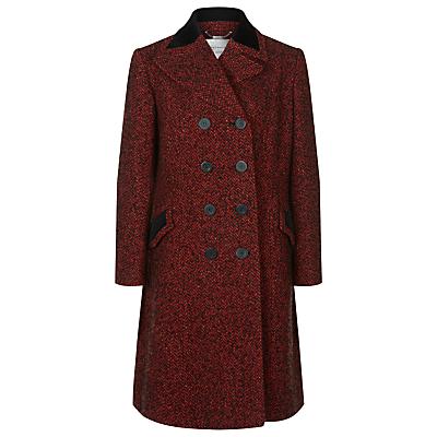 Windsmoor by Paul Costelloe Cambridge Double Breasted Tweed Coat, Red