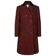 Buy Windsmoor by Paul Costelloe Cambridge Double Breasted Tweed Coat, Red Online at johnlewis.com