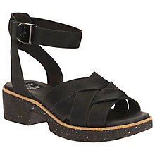 Buy Christopher Raeburn for Clarks Salek Sun Cross Strap Sandals, Black Comb Online at johnlewis.com