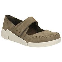 Buy Clarks Tri Amanda Leather Pumps, Sage Online at johnlewis.com