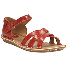 Buy Clarks Tustin Sahara Leather Sandals Online at johnlewis.com