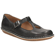 Buy Clarks Tustin Talent Leather Pumps, Black Online at johnlewis.com