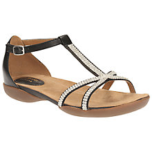 Buy Clarks Raffi Star Leather Sandals Online at johnlewis.com
