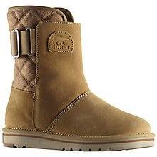 Buy Sorel The Newbie Short Women's Boots, Curry Online at johnlewis.com
