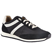 Buy BOSS Orange  Adrean Fabric Blend Trainers, Black Online at johnlewis.com