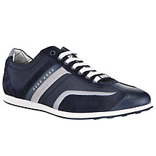 Buy BOSS Green Stiven Trainers, Blue Online at johnlewis.com
