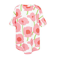 Buy Kin by John Lewis Girls' Poppy Print Dress, Pink/White Online at johnlewis.com