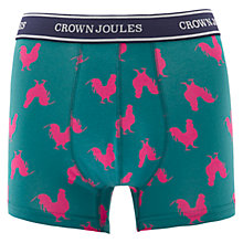 Buy Joules Crown Joules Morning Call Trunks, Green Online at johnlewis.com