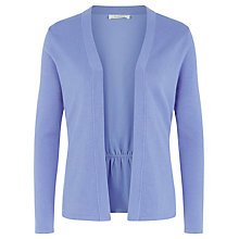 Buy Kaliko Curved Waist Seam Cardigan, Light Purple Online at johnlewis.com