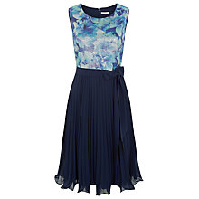 Buy Kaliko Printed Sequin Bodice Dress, Multi/Navy Online at johnlewis.com