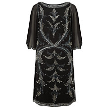 Buy Phase Eight Collection 8 Esmerelda Beaded Dress, Black Online at johnlewis.com