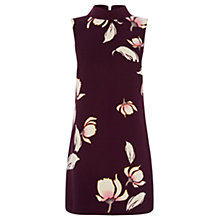 Buy Oasis Kimono Shift Dress, Burgundy Online at johnlewis.com