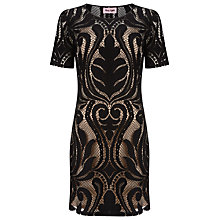 Buy Phase Eight Lorrie Lace Dress, Black Online at johnlewis.com