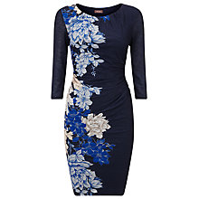 Buy Phase Eight Corrine Printed Dress, Navy Online at johnlewis.com