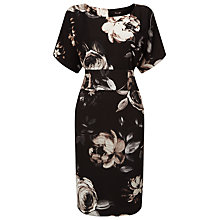 Buy Phase Eight Joanie Floral Print Dress, Black/Multi Online at johnlewis.com