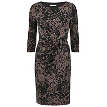 Buy Gina Bacconi Printed Ruched Dress Online at johnlewis.com