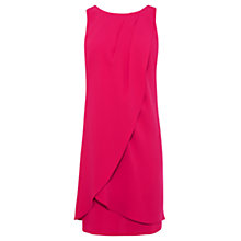 Buy Coast Lauren Bow Dress, Hot Pink Online at johnlewis.com