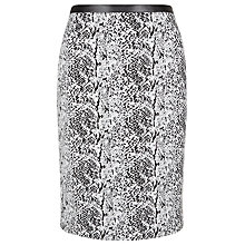 Buy Planet Jacquard Textured Skirt, Black/White Online at johnlewis.com