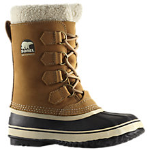 Buy Sorel 1964 PAC 2 Women's Snow Boots, Buff/Black Online at johnlewis.com