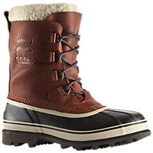 Buy Sorel Caribou Men's Winter Snow Boots, Brown Online at johnlewis.com