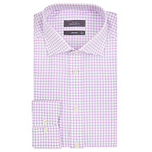 Buy John Lewis Windowpane Check Regular Fit Shirt Online at johnlewis.com