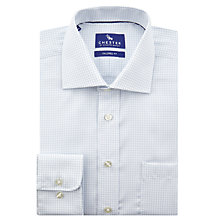 Buy Chester by Chester Barrie Tattershall Check Shirt, White/Blue Online at johnlewis.com
