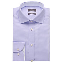 Buy John Lewis Luxury Houndstooth Tailored Fit Shirt with Metal Collar Bones Online at johnlewis.com