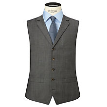 Buy Chester by Chester Barrie Prince of Wales Tailored Waistcoat, Grey Online at johnlewis.com