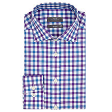 Buy John Lewis Check Tailored Fit Oxford Shirt Online at johnlewis.com