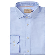 Buy JOHN LEWIS & Co. Braiden Washed Cotton Tailored Fit Oxford Shirt Online at johnlewis.com