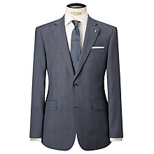 Buy Chester by Chester Barrie Prince of Wales Check Suit Jacket, Pale Blue Online at johnlewis.com