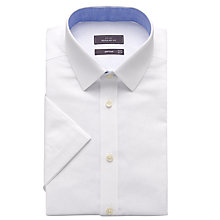 Buy John Lewis Regular Fit Short Sleeve Shirt Online at johnlewis.com