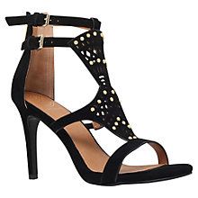 Buy KG by Kurt Geiger Harem Vamp Strap Heel Sandals Online at johnlewis.com