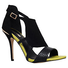 Buy Miss KG Honest High Heel Evening Sandals, Black Comb Online at johnlewis.com