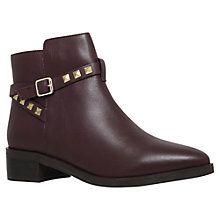 Buy KG by Kurt Geiger Sovereign Stud Mid Heel Ankle Boots Online at johnlewis.com