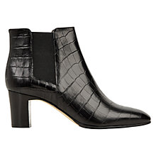 Buy Hobbs Petra Croc Effect Chelsea Boots Online at johnlewis.com