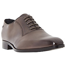 Buy Dune Black Razzmatazz Leather Oxford Shoes, Grey Online at johnlewis.com