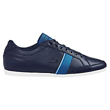 Buy Lacoste Alisos Low Rise Leather Trainers Online at johnlewis.com