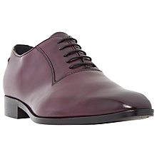 Buy Dune Black Razzmatazz Leather Oxford Shoes Online at johnlewis.com