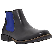 Buy Dune Chiggy Colour Panel Chelsea Boot, Black Online at johnlewis.com