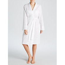 Buy John Lewis Broderie Anglaise Robe, White Online at johnlewis.com
