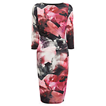 Buy Coast Anna Print Jersey Dress, Multi Online at johnlewis.com