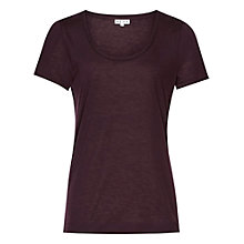 Buy Reiss Marty Short Sleeve Jersey Top Online at johnlewis.com