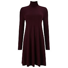 Buy Phase Eight Melody Swing Tunic Dress, Blackcurrant Online at johnlewis.com