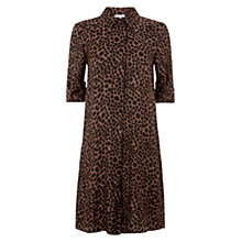 Buy Hobbs Cheetah Tunic Dress, Multi Online at johnlewis.com