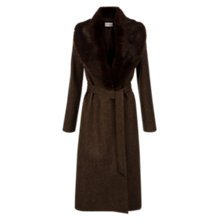 Buy Hobbs Ebony Trench Coat, Brown Online at johnlewis.com