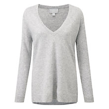 Buy Pure Collection Ladbroke Jumper, Heather Dove Online at johnlewis.com
