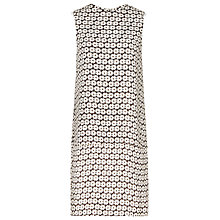 Buy Reiss Jasper Print Dress, Black/Off White Online at johnlewis.com