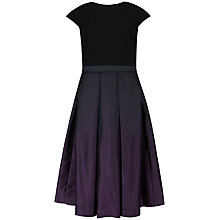 Buy Ted Baker Vikky Contrast Skirt Dress, Grape Online at johnlewis.com
