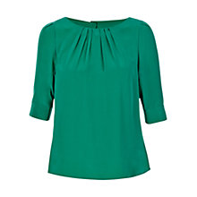 Buy Hobbs Eimear Silk Blouse Online at johnlewis.com